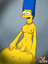 marge simpson porn cfddb homer simpson marge sheanimale simpsons