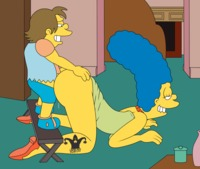 marge simpson porn fee jester marge simpson nelson muntz simpsons animated blargsnarf from porn pics