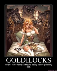 cartoon tits pictures pics demotivational poster goldilocks sexy cartoon tits cleavage boobs breasts booty naughty entry