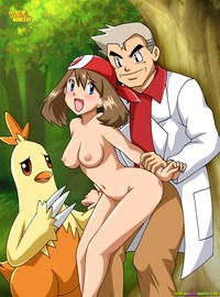 pokemon hentai professor oak may pokemon hentai world