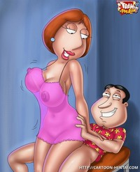 cartoons fucking xxx buxomy lois griffin rail glenn quagmire manmeat free family guy porn cartoons