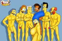 simpsons porn simpsons porn cartoons lewd marge gets gangbanged