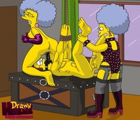 simpsons hentai eabea fcaffd drawn hentai ned flanders patty bouvier selma simpsons