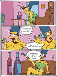 simpsons hentai mxkpcwnq hentai simpsons marge exploite photo