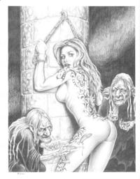 comic porn sex anime cartoon porn xxx erotic comic coven satan witches photo
