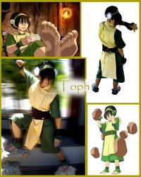 toph porn toph collage porn anime cartoon cosplay bei fong