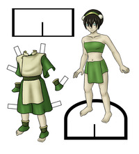 toph porn toph paper doll lilfirebender movie star dolls