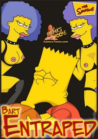comic toon porn rmd bart entrapped category simpsons page