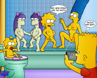 bart and lisa simpson porn dbf bart simpson lisa maggie marge sherri terri simpsons wdj