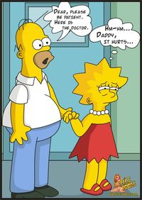 bart and lisa simpson porn cartoon simpsons jetsons adult toons