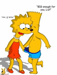 bart and lisa simpson porn heroes simpsons