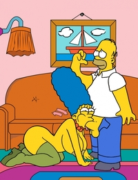 bart and lisa simpson porn normal pic category marge