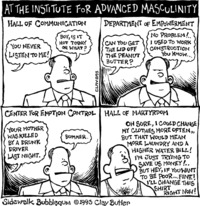 comics of cartoon sex sidewalk bubblegum institute advanced masculinity