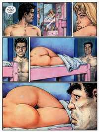 comix cartoon porn adult comics where three guys fuck one girl cartoon porn page