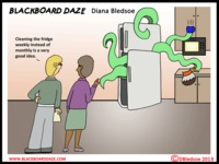 dirty toon comics weekly cleaning online funny cartoon about dirty fridge