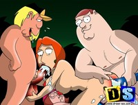drawn toon porn pics family guy drawn