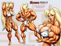 erotic cartoon characters photo fantasy muscle artist spotlight david matthews