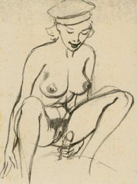 erotic cartoon drawings tom poulton mid twentieth century venuses erotic