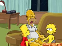 family toon xxx cartoon simpsons bbq