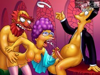 famous cartoon porn gallery category simpsons porn