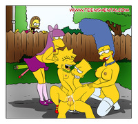 marge and bart simpson porn media original rule bart simpson lisa marge ned flanders