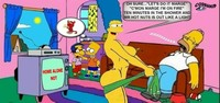 marge and bart simpson porn fabbee bart simpson cosmic homer marge milhouse van houten simpsons