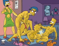 marge and bart simpson porn heroes simpsons