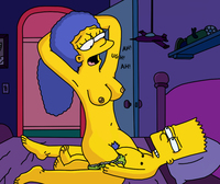 marge and bart simpson porn simpsons xxx pic bart simpson marge