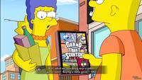marge and bart simpson porn shots simpsons game xbox screenshot marge caught bart buying black girls gangbanged multiple partners hardcore porn movies