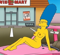 marge and bart simpson porn marge simpson outdoor dare simpsons monday