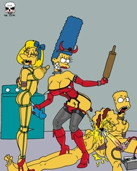 marge and bart simpson porn bart simpson lisa maggie marge fear simpsons incest xxx