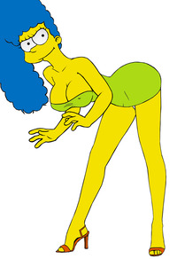 marge and bart simpson porn marge simpson fluffy hot cartoons simpsons bart fucking