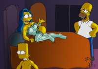 marge and bart simpson porn fab ecb bart simpson homer marge simpsons zst xkn porn milhouse