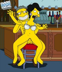 famous toons comics moe barman shags customer