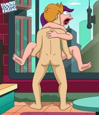 famous toons gallery fry from futurama caught jerking