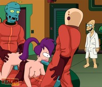famous toons gallery crazy futurama hardcore orgy