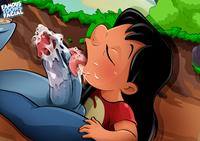 famous toons pics batothecyborg lilo stitch famous toons facial