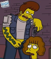 famous toons porn pic fedb adult famous toons facial simpsons snake maude