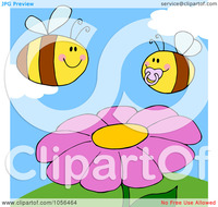 free adult toon pics royalty free vector clip art illustration chubby baby bee adult over flower sunny day portfolio ctsankov