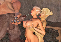 fuck toons pics dmonstersex scj galleries playful babe faving fun their monster fuck toons
