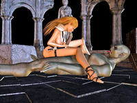 fuck toons pics dmonstersex scj galleries slutty babe violently done monster fuck toons