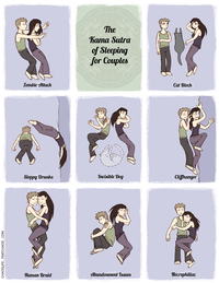 funny cartoon having sex assets guide every ridiculous sleeping position available couples