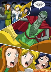 green toon hentai rated drawings totally spies hentia