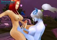 hd cartoon porn pictures screenshots sexy elf archer attacked undead orc