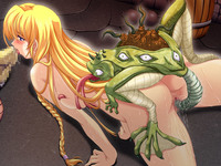 hentai toon gallery blonde toon lets oviposition frog monster breed hentai porn pictures