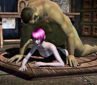 hentai toon images dmonstersex scj galleries ogre hentai toon dirty pink haired elf