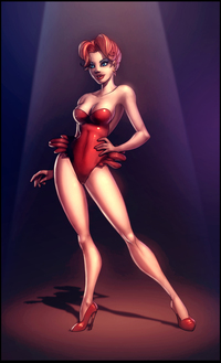 hot toons pic red hot riding hood colored windriderx art