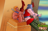 hot toons pics man gay toons cartoon dicks attacks cocks attachment