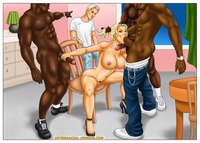 interracial cartoon porn pic pics astonishing group fuck interracial cartoons cartoon porn wife hot