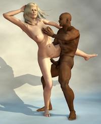 Extreme interracial porn